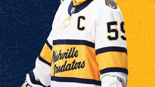 nashville predators jersey history