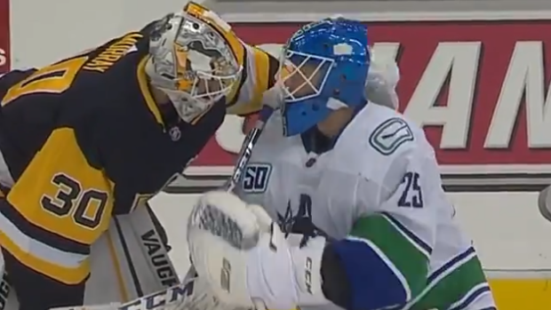 Matt Murray Made A Heartwarming Gesture To Jacob Markstrom After His Father Passed Away Article Bardown
