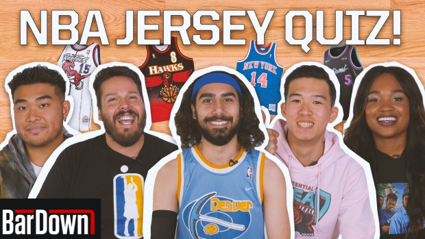 Can you pass this NBA jerseys quiz?