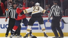 Tom Wilson fights Zdeno Chara