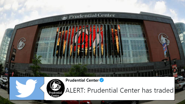 The Prudential Center (of all accounts) had the best tweet on trade deadline day - Article - BARDOWN