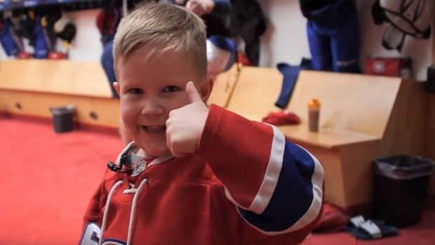 The Canadiens Mic D Up Jeff Petry S Son For A Game And The Results Are Fantastic Article Bardown