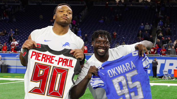 NFL rookies share who they want their first jersey swap to be with ...