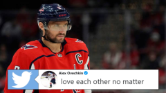 Washington Capitals captain Alex Ovechkin.