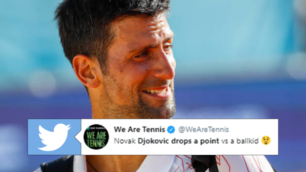 Novak Djokovic Takes On Ball Boy For A Fun Point And Loses It Article Bardown