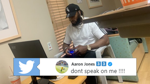 Aaron Jones Claps Back After Kelsey Plum Criticizes Ps4 Photo In Girlfriend S Delivery Room Article Bardown