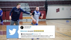 Luka Doncic and JJ Barea