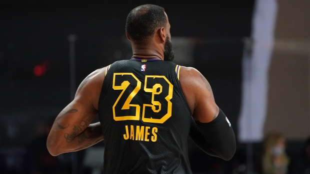 The Lakers wore Black Mamba jerseys co-designed by Kobe Bryant for ...
