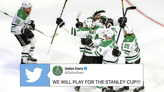 Dallas Stars advance