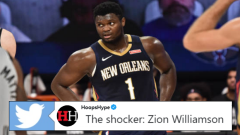 New Orleans Pelicans rookie Zion Williamson.