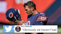 Chicago Bears quarterback Mitch Trubisky