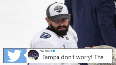 Tampa Bay Lightning forward Alex Killorn.