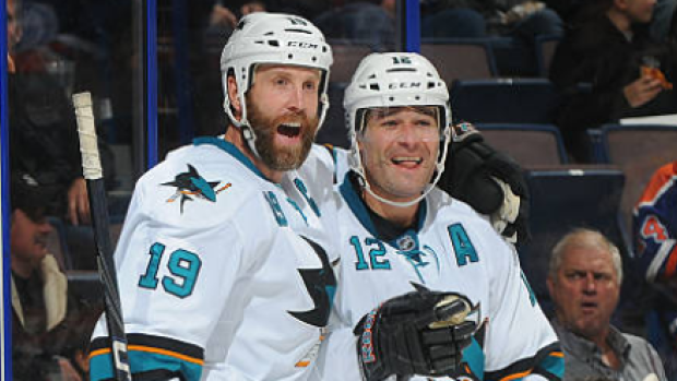 """Patrick Marleau shares heartfelt message to """"brother"""" Joe Thornton after Leafs contract - Article - BARDOWN"""
