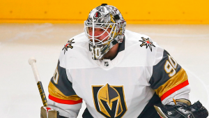 Lehner had the best response to fans who didn't want him in net in game 4