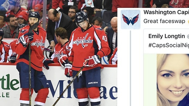 8ba2194a532ec The most awkward social media interaction of 2016 goes to the Washington  Capitals Twitter - Article - Bardown