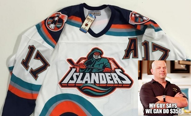 New York Islanders Fisherman Jersey Ebay