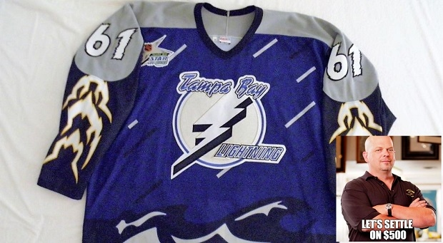 Back in the 90 s the Tampa Bay Lightning sported these mural like sweaters bffcc8e0b