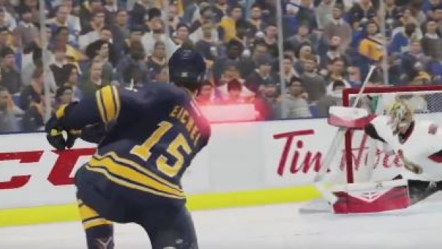 Eichel in Sabre's promo video