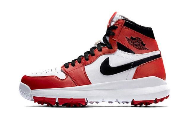 cd519726e3daf9 Combining a Jordan 1 with a golf cleat actually makes for a strange ...