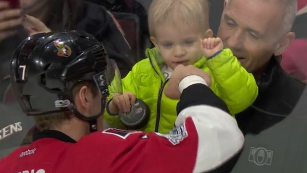 Kyle Turris Shared Adorable Moment With His Son Ahead Of His 500th Career Nhl Game Bardown