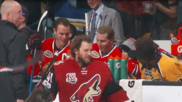 huge discount 547be 9f7f7 Jonathan Toews pranks Patrick Kane ahead of the NHL All-Star ...