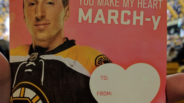 bruins players star in hilarious valentine s day cards article