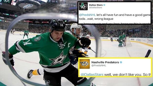1c47beb9d Stars and Predators mock NBA s new social media rules with hilarious ...