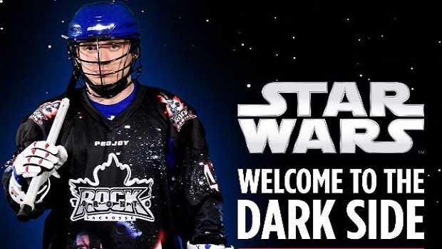 Toronto Rock Star Wars Night jerseys