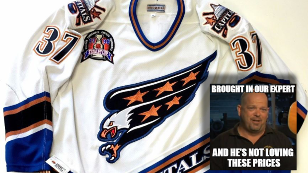 official photos 03de8 961c9 5 jerseys up for auction that are outrageously priced ...