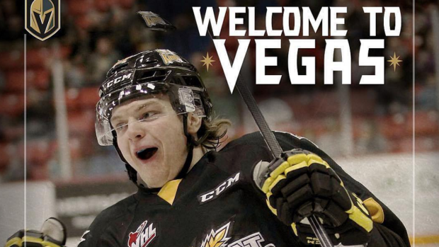 The Vegas Golden Knights have made their first player ...