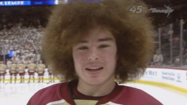 Mullets Afros And Flow On Full Display Thursday At Minnesota State HS Hockey Tournament