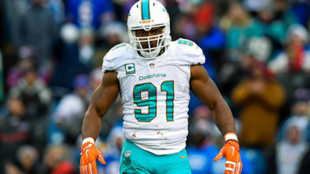 Cameron Wake played two seasons in the CFL before joining the NFL's Miami Dolphins.