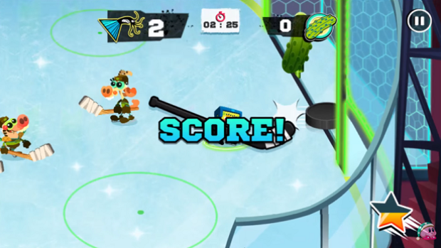 This Spongebob Video Game Has To Be The Weirdest Hockey Game Ever