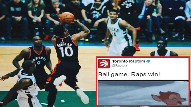 The Raptors fantastically fired back at the Bucks after their Game 4  victory - Article - Bardown f06e853f6