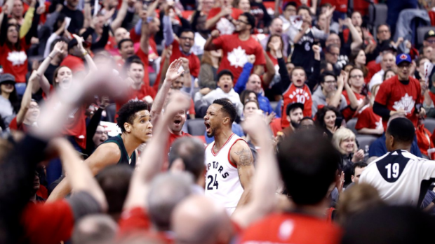 Raptors fans loved Norman Powell s huge performance in Game 5 win ... a43c0d2ef