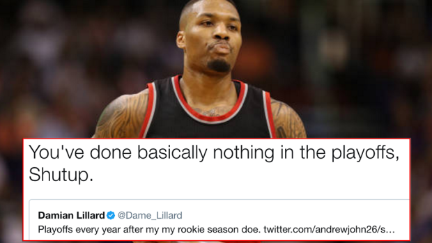 Damian Lillard torched fans that tried to chirp him about ...