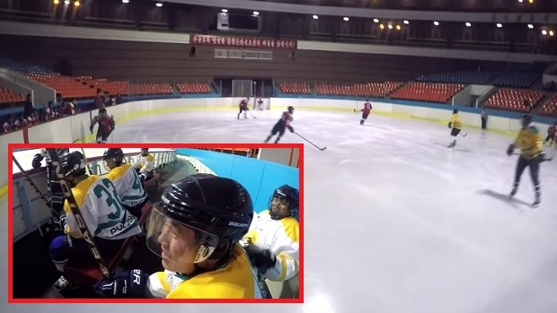 North Korea hockey