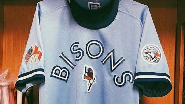 83fd34d8a89 Bisons rock fantastic throwback Jays-themed uniforms for Blue Jays Weekend  - Article - Bardown