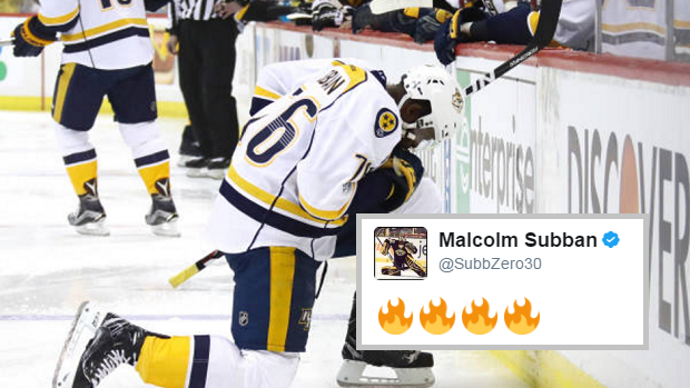 Malcom Subban Live Tweeting His Brother S Overturned Goal Sums Up