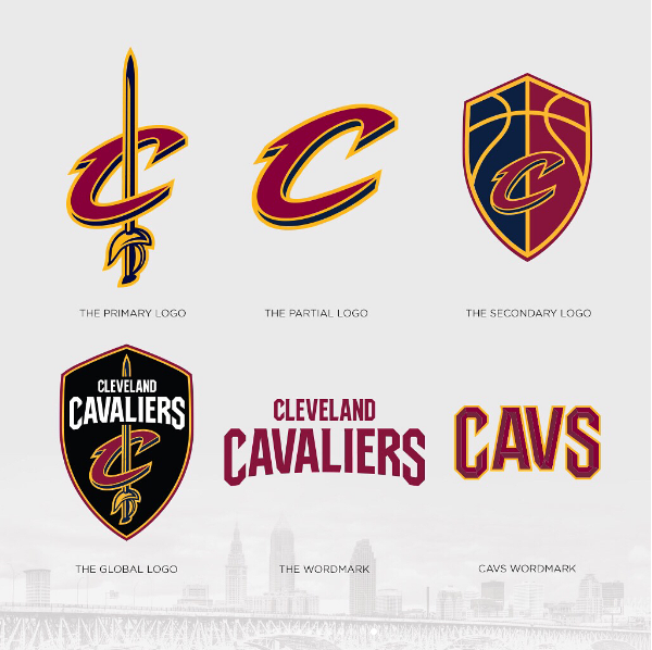 The Cleveland Cavaliers Revealed An Entirely New Series Of Logos A