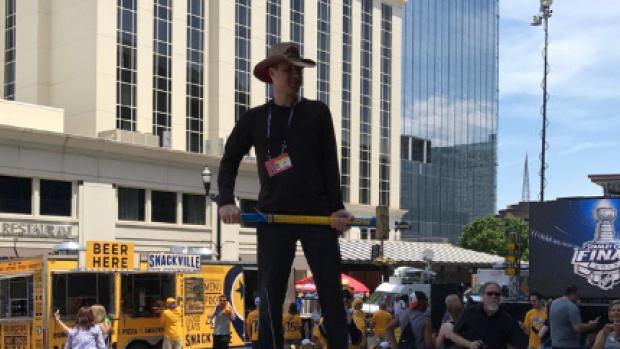 Nashville predators celebrity fans of game