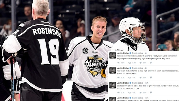 e389597b8a7 Justin bieber takes to twitter to defend his jersey wearing habits article  bardown jpg 620x349 Justin