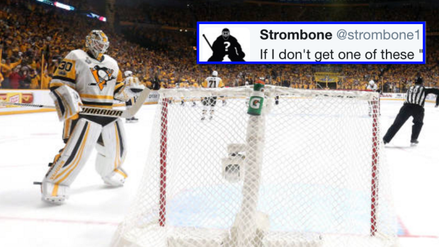 Roberto Luongo Had The Tweet Of The Night In Reaction To What Preds