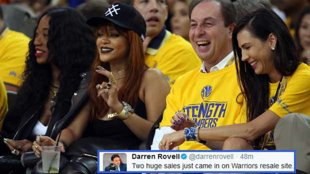 The prices for courtside tickets to Game 5 of the NBA Finals are absurdly expensive - Article ...