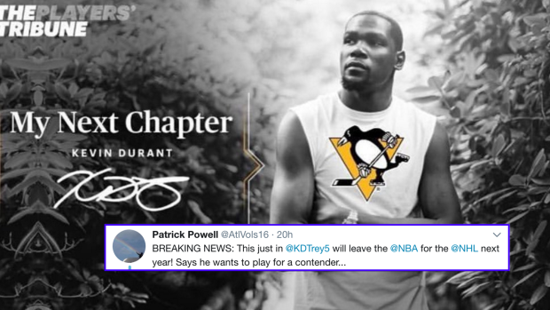 Funny Meme For Him : Kevin durant responds to meme of him announcing plans to join the