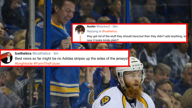 8c44bb5b It looks like the new Adidas home jerseys for the Predators, Blues have  leaked - Article - Bardown