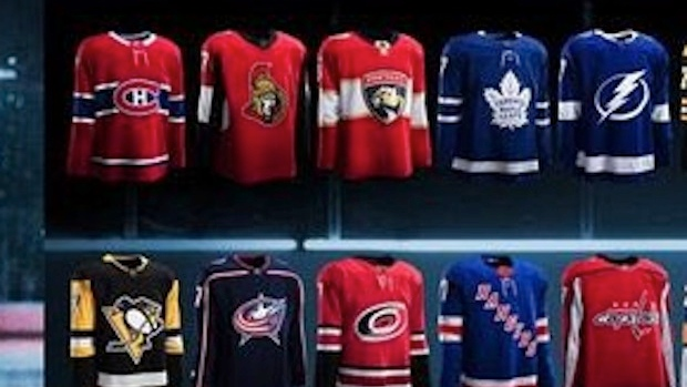 e5889b83 All 31 NHL teams new Adidas jerseys have been leaked - Article - Bardown