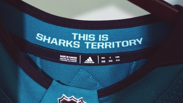 12 New Nhl Jerseys Have Designs Hidden On The Inside Of The Collar