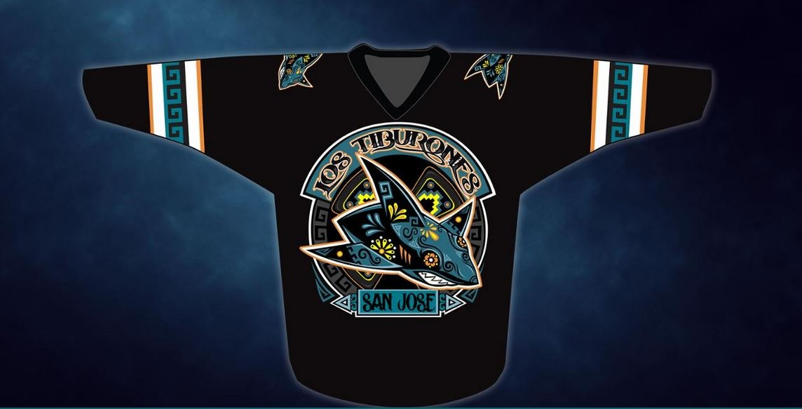 the latest a5daa 2b388 Sharks will give fans incredible Los Tiburones jerseys for ...