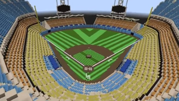 This Dodger Stadium Build In Minecraft Is So Accurate You